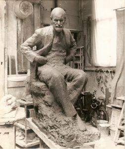Seated Freud