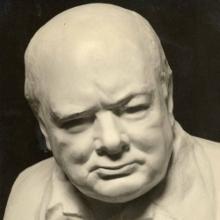 Nemon's iconic bust of Churchill