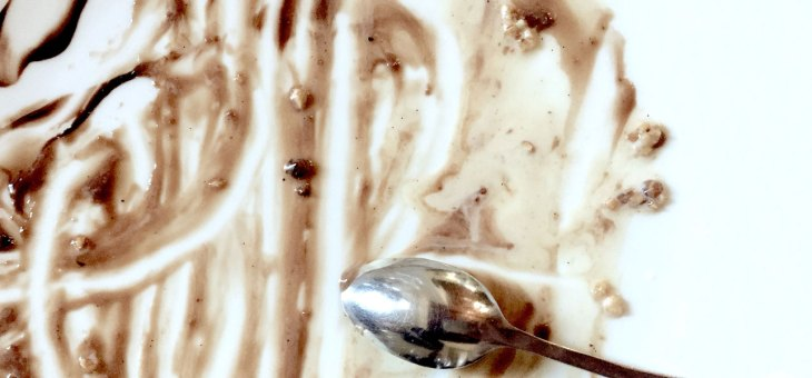 Los posos de la tarta de chocolate