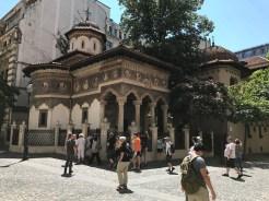 Ett vackert kloster i gamla stan.