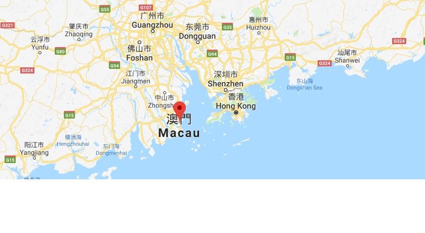Macao karta