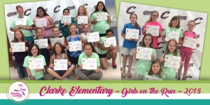 Clarke Elementary Girls on the Run