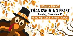 clarke schools osceola iowa family night
