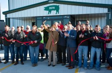 iowa select farms osceola grand opening