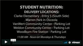meals for clarke students osceola iowa