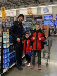 shop with a cop in osceola