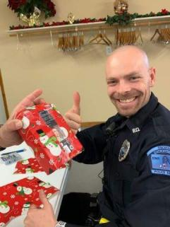 shop with a cop in clarke county iowa