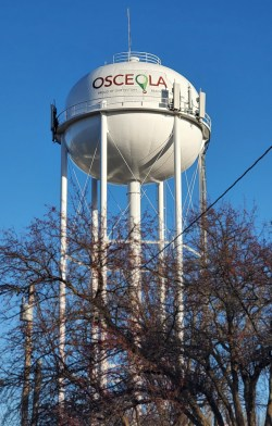 osceola water wroks tower on the square