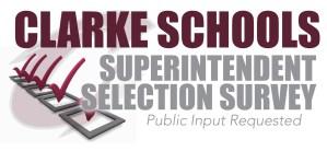 clarke community schools superintendent survey