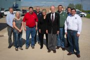 Grassley's Annual Tour Stops at Osceola's SIMCO Drilling Equipment, Inc.