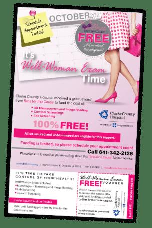 free mamograms osceola iowa