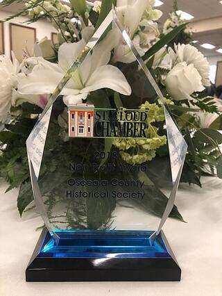 OCHS Presented Non-Profit of the Year Award by St.Cloud Chamber of Commerce