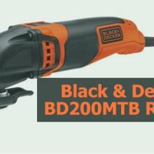 Black & Decker BD200MTB Review