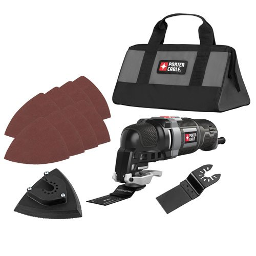 PORTER-CABLE PCE606K 3-Amp Oscillating Multi-Tool Kit