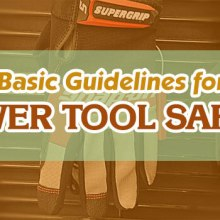 Power tool safety guide