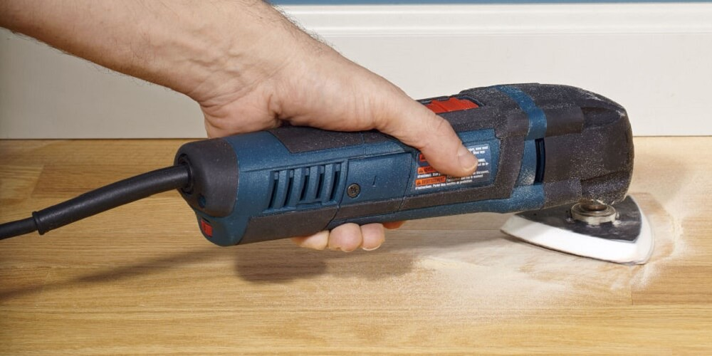 Sand It Smooth using an oscillating tool