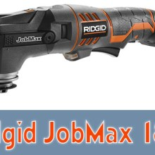 Ridgid JobMax 18V Review