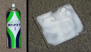Acrylic static protection spray