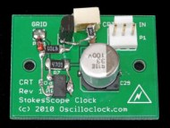 CRT Board - heavily modified for improved frequency response
