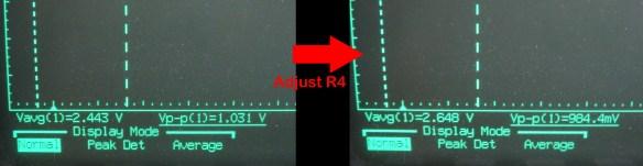 Simple 3.3V to 5V analog level adjuster - Offset effect on Gain