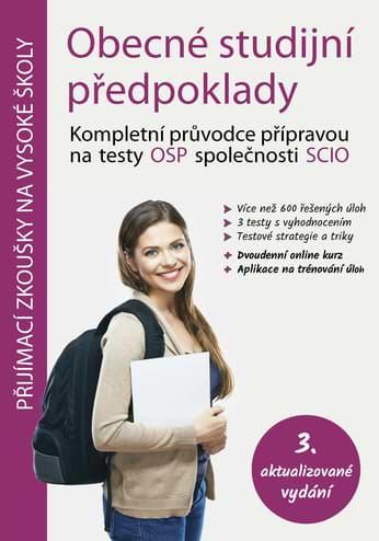 Učebnice na Scio testy OSP obálka