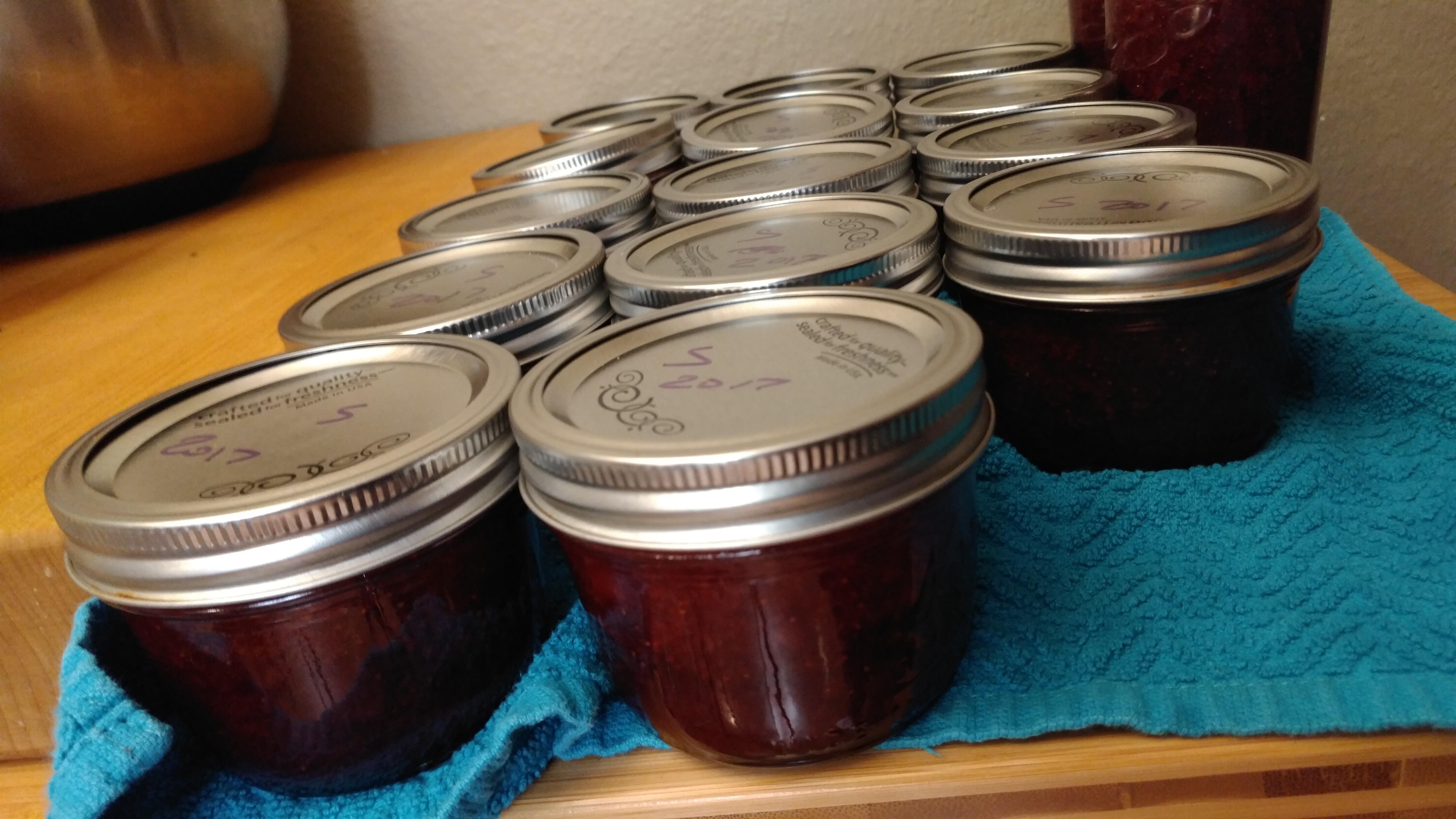 Strawberry Picking 2017 Part 2: Jam Making