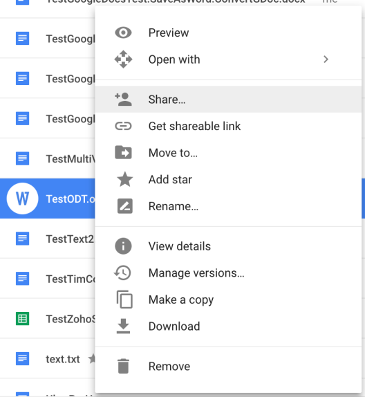LibreOffice users can collaborate with Google Drive