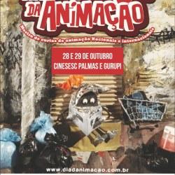 CineSesc Palmas participam do Dia Internacional da Animação