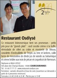 Restaurant Osélysé