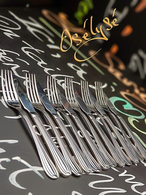 Couteaux et fourchettes dessert Jean Dubost