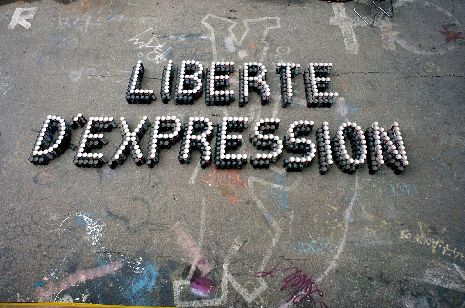 <H1>La liberté d'expression</H1>