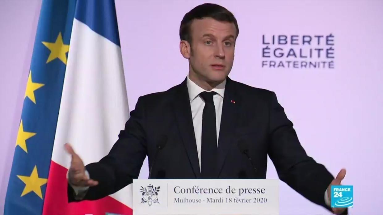 Discours de Macron à Mulhouse sur le séparatisme islamiste
