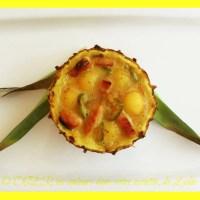 Ananas rôti et émincé de dinde au piment vert