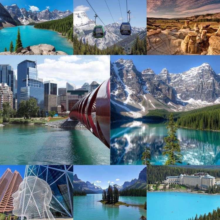 Calgary, les Rocheuses, Banff et Jasper en Alberta