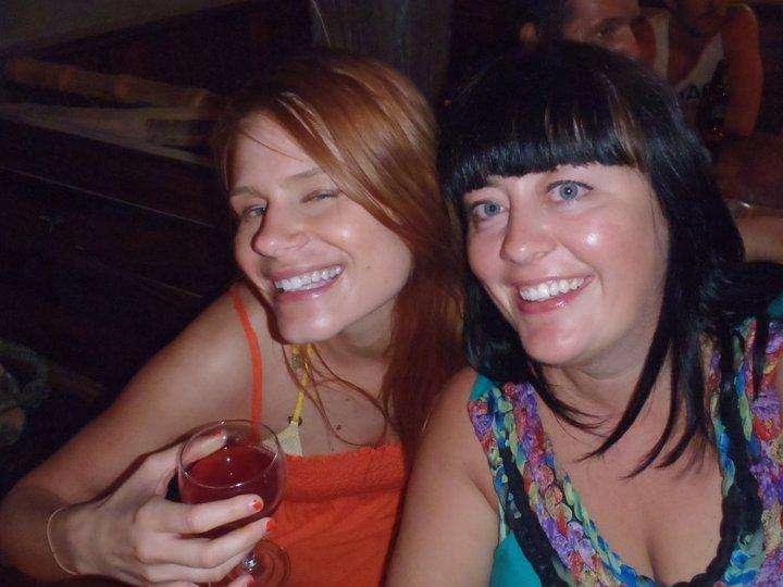 Megan et moi à San Juan Del Sur au Nicaragua