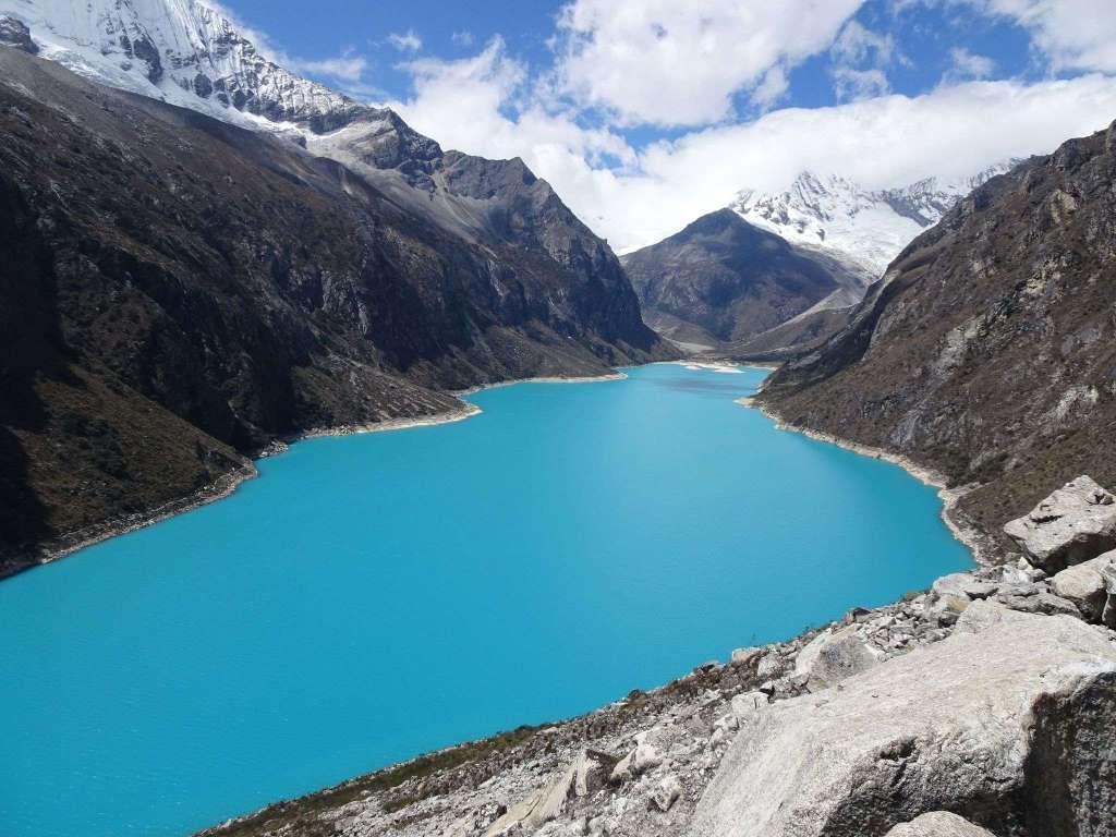 lac Paron - voyager seule au Pérou