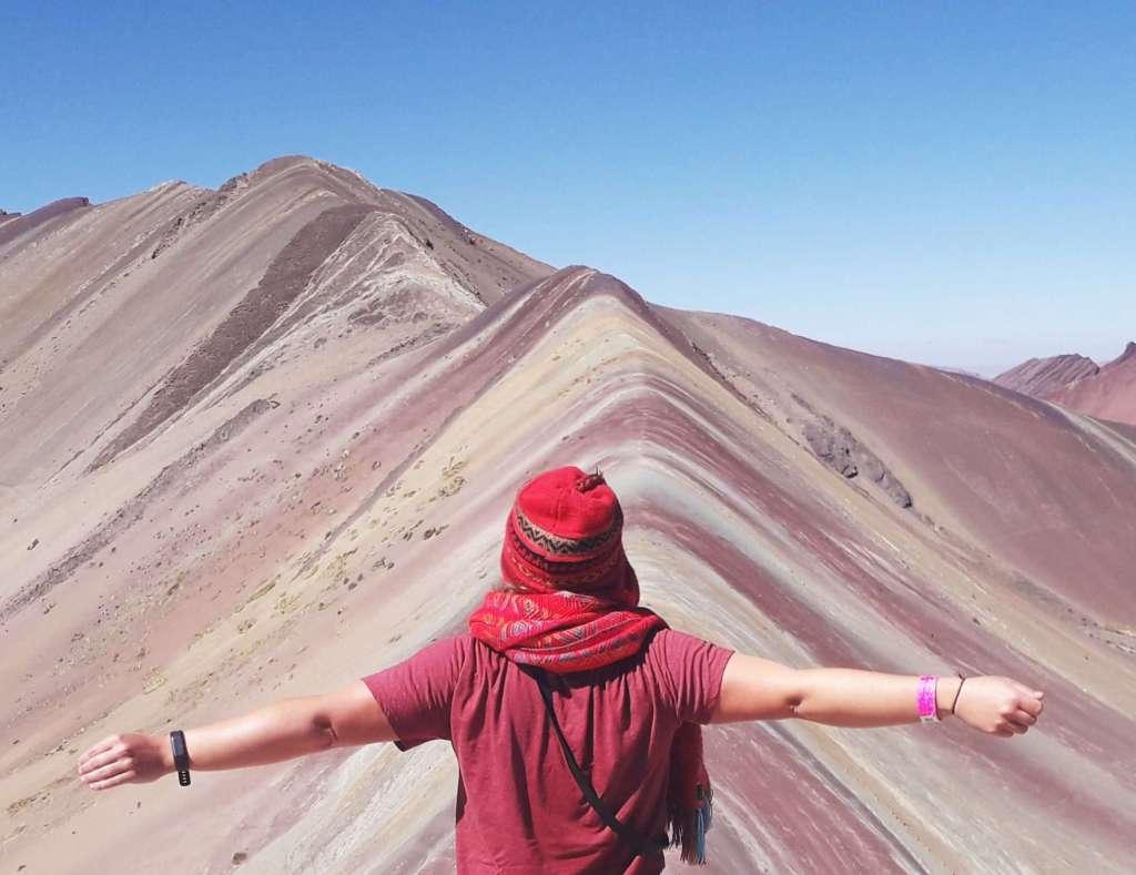 voyager seule au pérou rainbow mountain