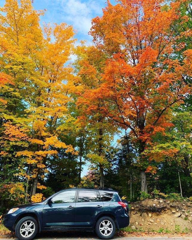 road-trip seule au Canada