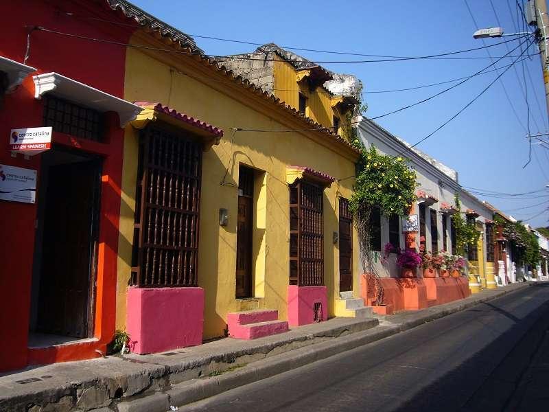 voyager seule à Carthagène colombie