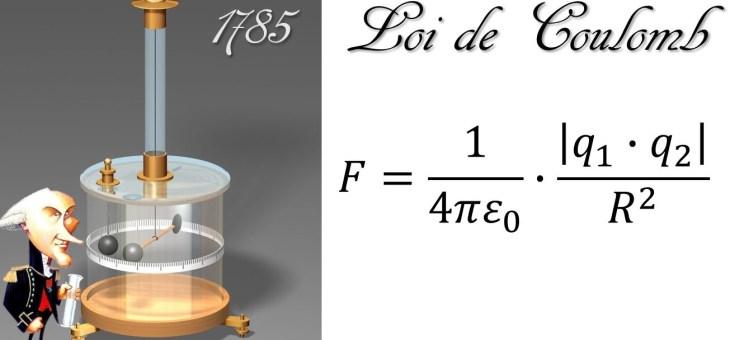 L'électrisation par frottement et la loi de Coulomb!