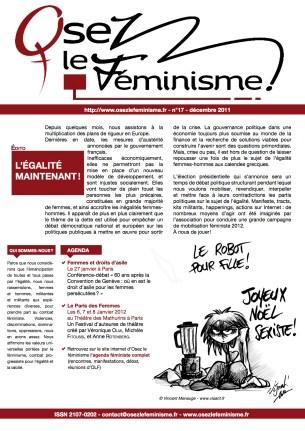 Journal 17 d'Osez le féminisme !
