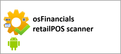 osF retailPOS scanner - Android app