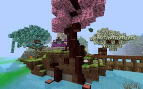 Minecraft pink tree