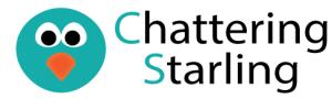 Chattering Starling Logo