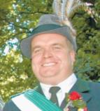 Soll neuer Oberst werden: Handelsvertreter Jens Hartmann