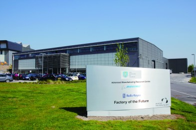 Advanced Manufacturing Research Centre (AMRC). Photo Courtesy: AMRC.