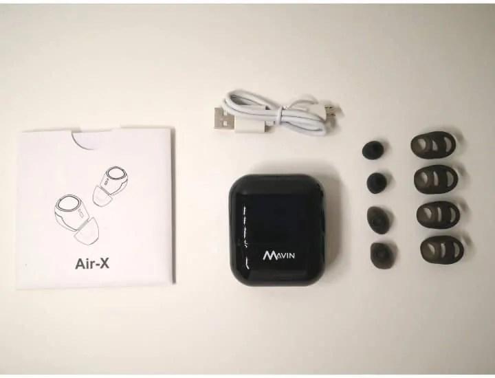 Air-Xパッケージ付属品一覧の画像