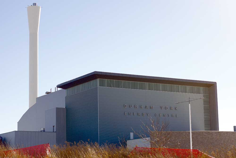 The Durham York Energy Centre was hit by a small fire earlier this month that shut down operations for several hours. Craig Barlett, the region's manager of waste operations, says the cause of the blaze may remain a mystery.