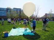 UOIT weather balloon