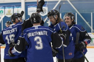 The UOIT Ridgebacks went undefeated on the weekend, besting both the Waterloo Warriors and Laurier Golden Hawks.